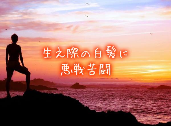 生え際の白髪に悪戦苦闘.jpg